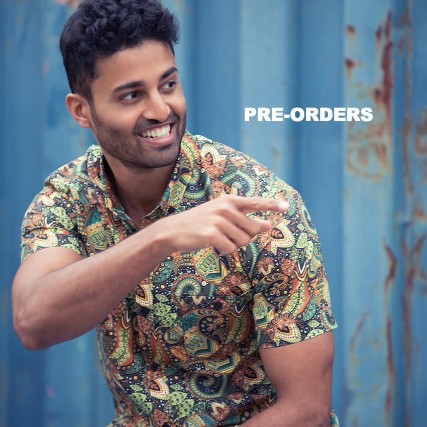 Sultan (Pre-Orders) - Men's Short Sleeve Button-Down - MR. KOYA