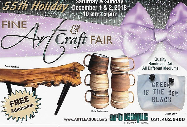 55th Holiday Fine Art & Craft Fair at Art League of Long Island