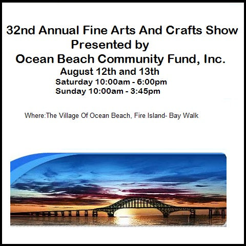 Ocean Beach 32nd Annual Fine Arts and Crafts Show