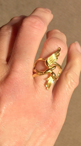 Soaring Swallow Ring
