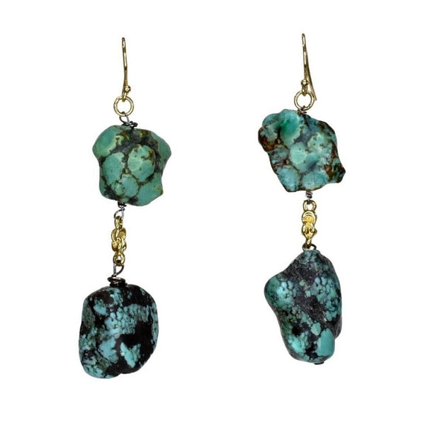 Lagoon Drop Earrings (exclusively-ours)