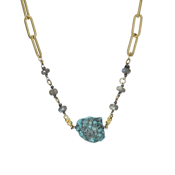 Vivid Lagoon Necklace (exclusively-ours)