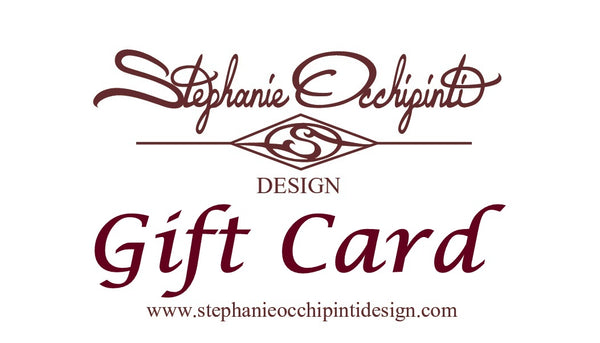 Stephanie Occhipinti Design Gift Card