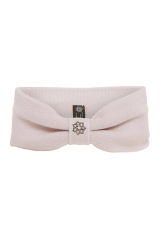 Hedvig - cashmere headband - Pale Foggy Rose