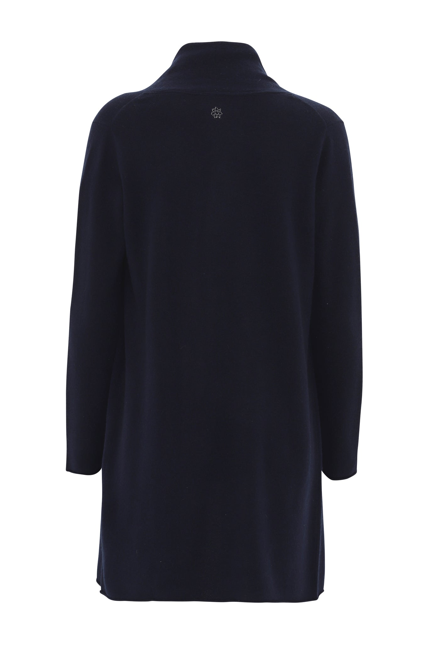 Ingrid - cashmere cardigan - Dark Navy