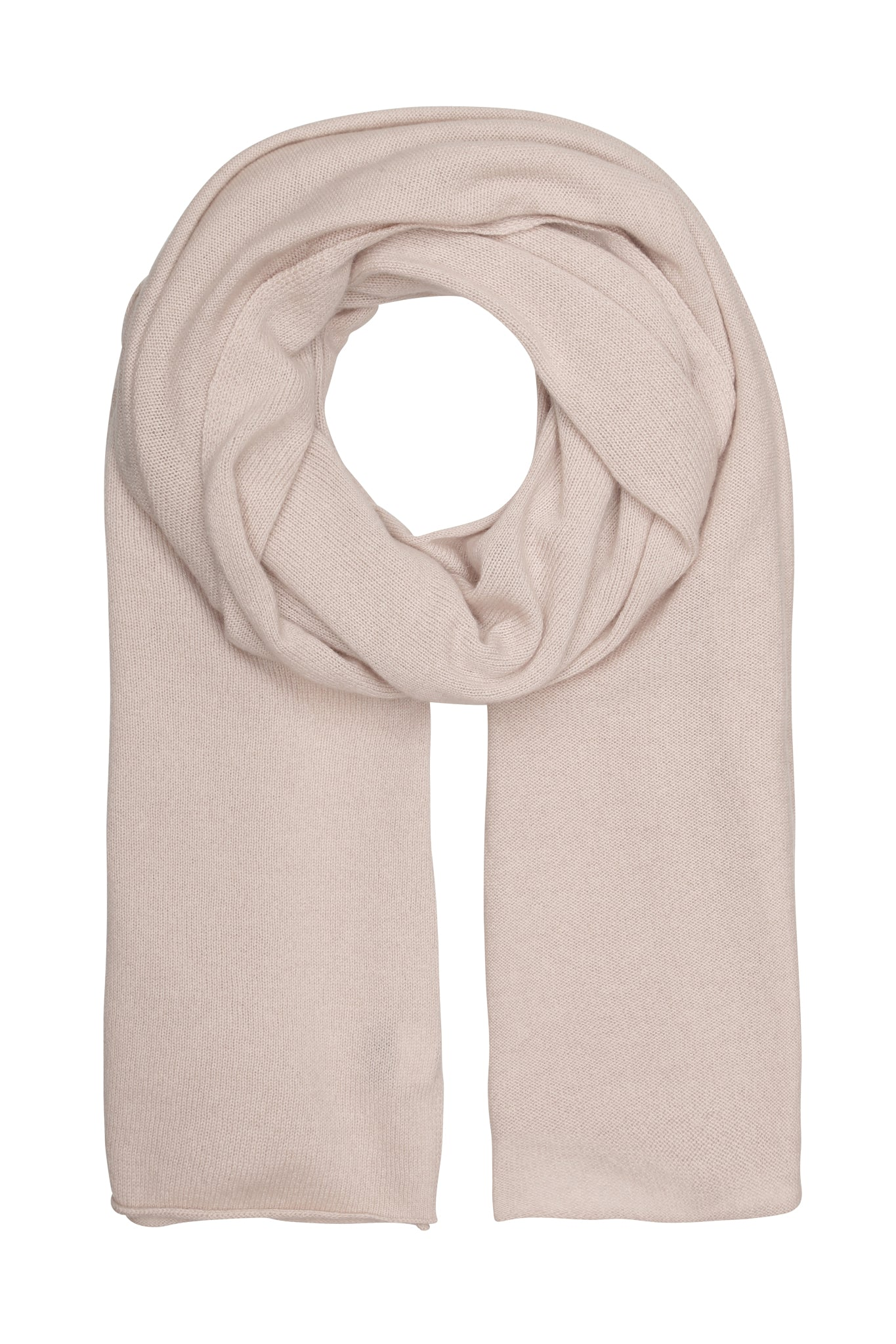 Bea - kæmpetørklæde i cashmere Made in Italy - Dusty Rose