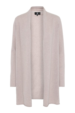 Ingrid - cashmere cardigan - Pale Dusty Lavender