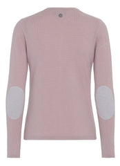 Alexia - cashmere cardigan - Dusty Rose