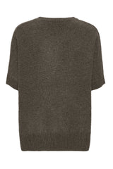 Tilde - Cashmere T-poncho - Army
