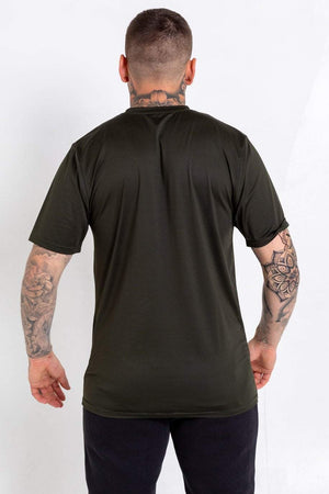 Bookey Lux statement T-Shirt - Army Green - Bookey Clothing - Streetwear