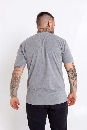 Rainbow Dotted Bookey Classic T-Shirt - Grey - Bookey Clothing - Streetwear