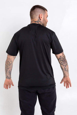 Bookey Lux Statement T-Shirt - Black and Gold - Bookey Clothing - Streetwear