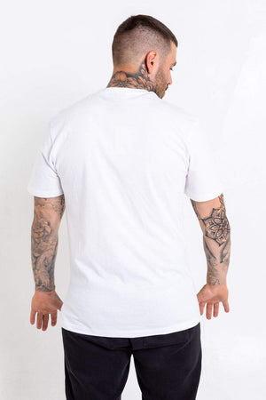 Grey Logo Bookey Classic T-Shirt - White - Bookey Clothing - Streetwear