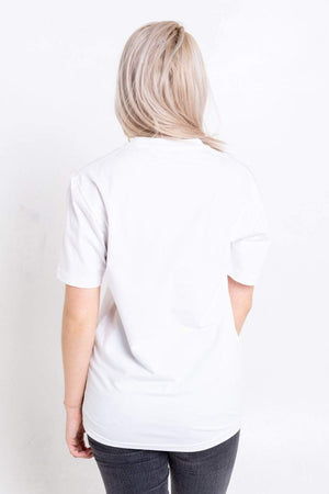 Bookey Statement  T-Shirt - White - Bookey Clothing - Streetwear