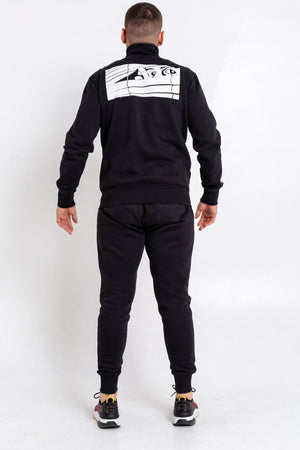 Black Bookey Classic Jog Pants - Mens Fit - Bookey Clothing - Streetwear