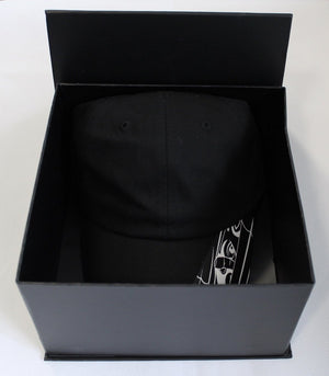 Black Bookey Hat Box - Bookey Clothing - Streetwear