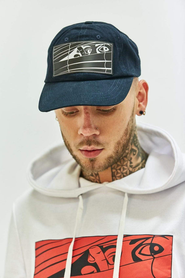 Bookey Navy Blue Chino Cap - Bookey Clothing - Streetwear