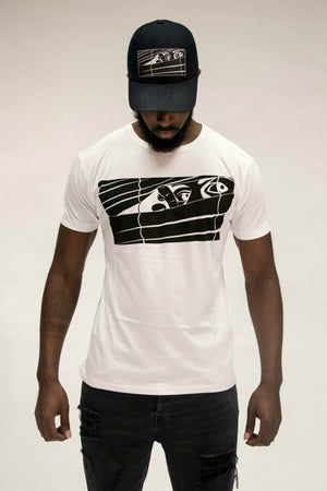 Black Logo Bookey Classic T-Shirt - White - Bookey Clothing - Streetwear