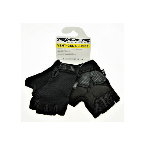 RYDER GLOVE VENTGEL - BLACK
