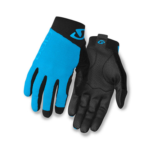 GIRO GLOVE RIVET II  - BLUE JEWEL/ BLACK