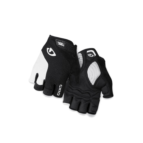 GIRO GLOVE STRADE DURE WHITE/BLACK