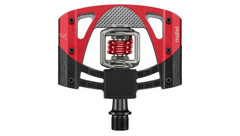 CRANKBROTHERS PEDAL MALLET 3 - BLACK/RED