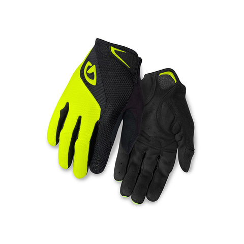GIRO GLOVE BRAVO GEL LF  - BLACK/YELLOW
