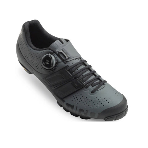 GIRO SHOE CODE TECHLACE MTB - DARK SHADOW BLACK