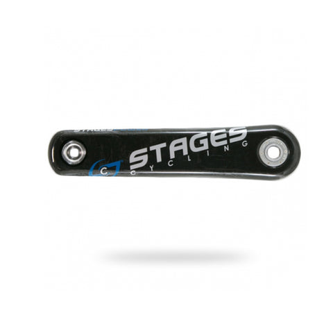 STAGES POWER METER CARBON BB30 LEFT BLUE GRAPHICS