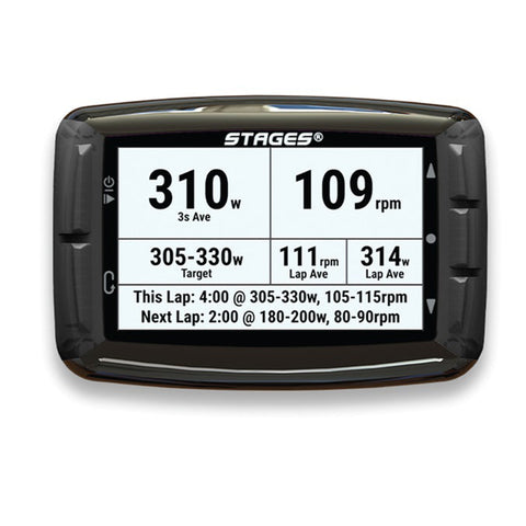 STAGES GPS DASH L10