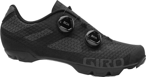 Giro Shoe Sector Mtb - Black/Dark Shadow