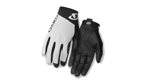GIRO GLOVE RIVET II - WHITE/ BLACK