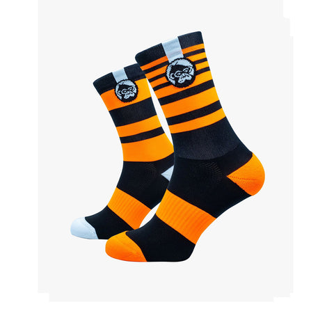 Grumpy Monkey Ktm Orange Socks.