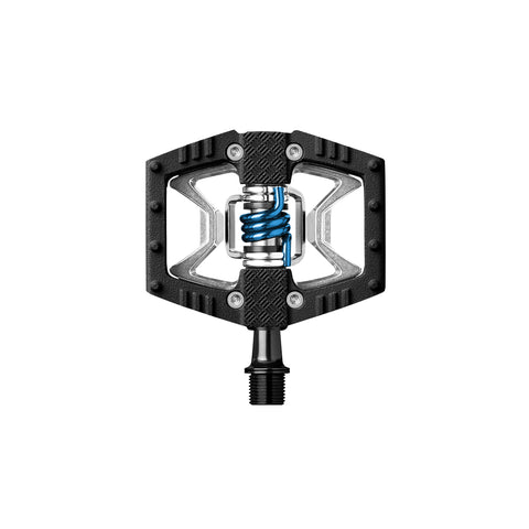 CRANKBROTHERS PEDAL DOUBLE SHOT 2 RAW BLACK