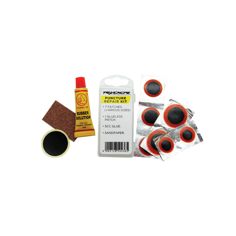 RYDER PUNCTURE KIT WITH EXTRA GLUELESS PATCH
