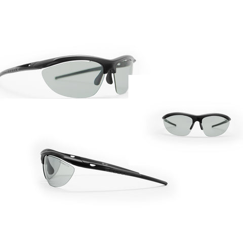 Darcs Single Photochromic 3.0 Clear Lens Black Frame