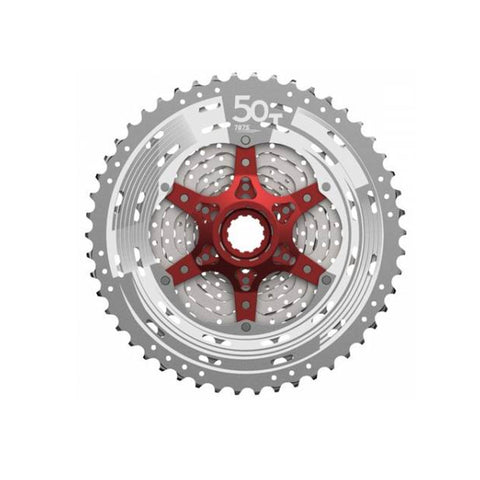 SUNRACE CASSETTE SPROCKET MX80 11S 11-50T METALIC SILVER