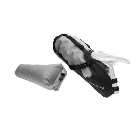B/Burn Outpost Seat Pack W/Dry Bag Black