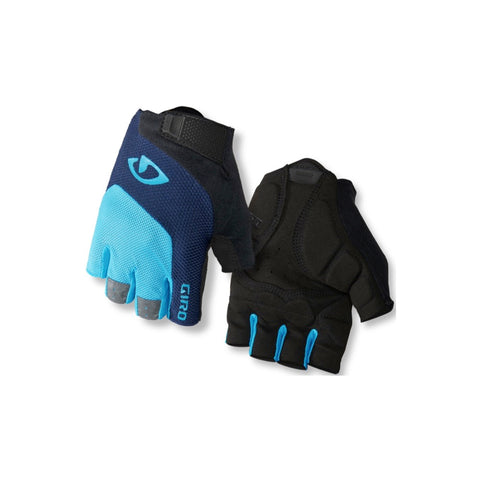 GIRO GLOVES BRAVO GEL - BLUE