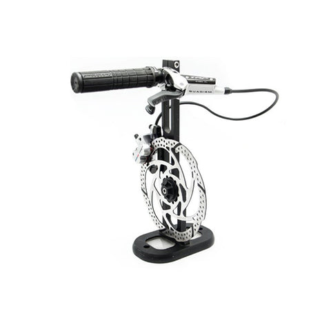 TEKTRO RP HD-M830 QUADIEM BRAKE SET - SILVER/BLACK