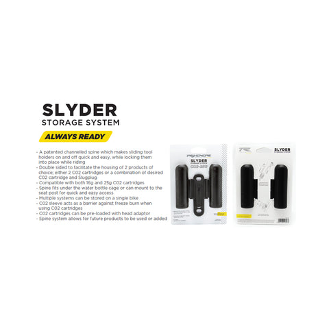 Ryder Slyder 25G Co2 Storage System.