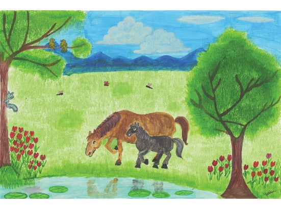 My love for horses by Yashitha, aged 10