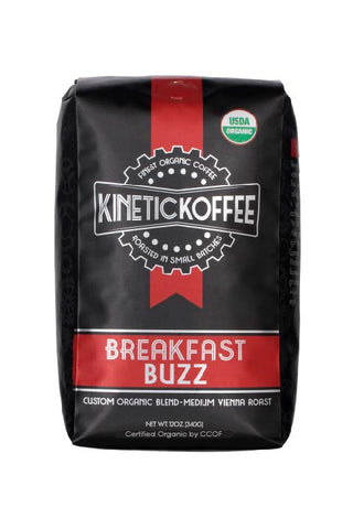 Kinetic Koffee Breakfast Buzz-Custom Blend Medium Vienna Roast