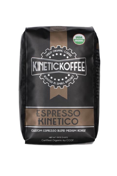 Kinetic Koffee Espresso Kinetico- Custom Espresso Blend Medium Roast