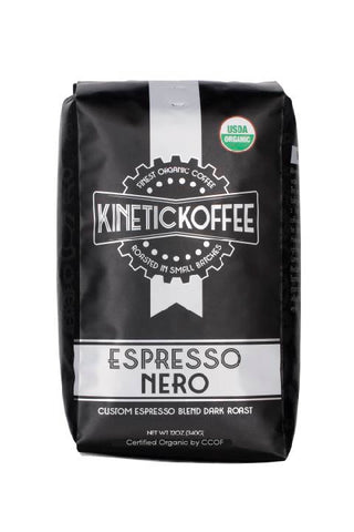 Kinetic Koffee Espresso Nero- Custom Espresso Blend Dark Roast