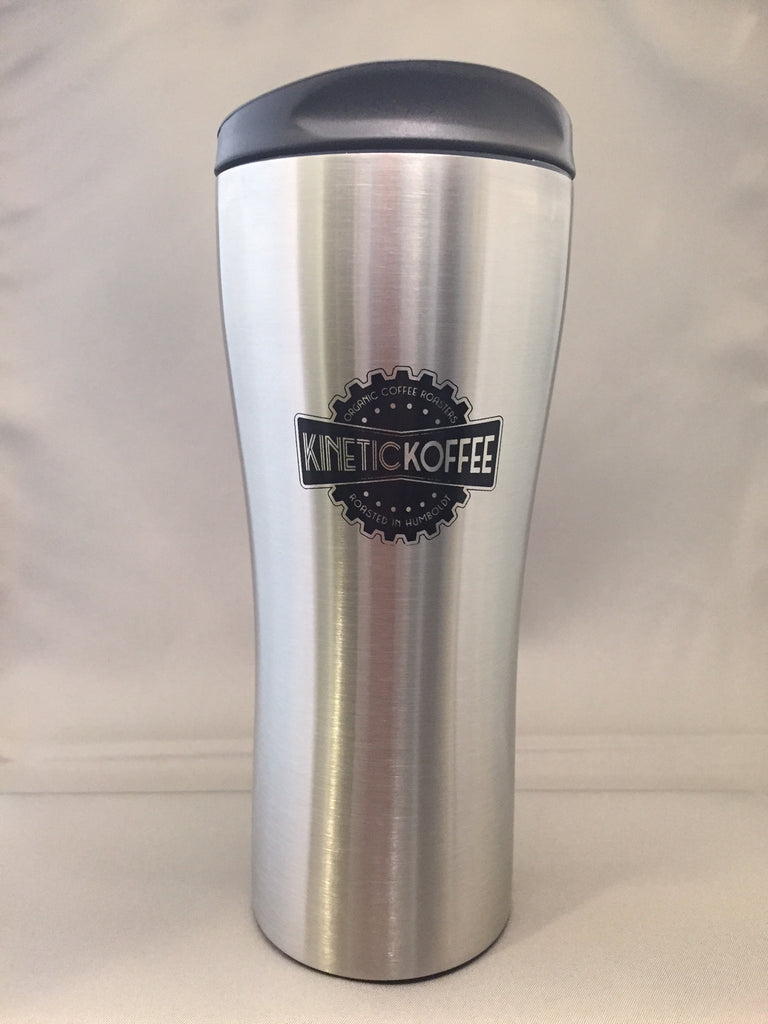 Kinetic Koffee Double Wall Stainless Steel Travel Mug