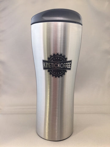 Kinetic Koffee Stainless Travel Mug