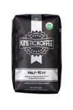 Kinetic Koffee Half- Kaf- 50% French Konnexion, 50% DeKaf Dekadence