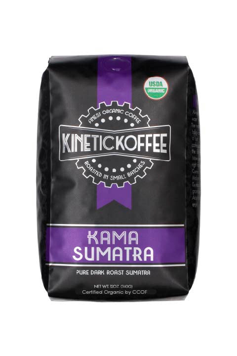 Kinetic Koffee Kama Sumatra Dark Roast