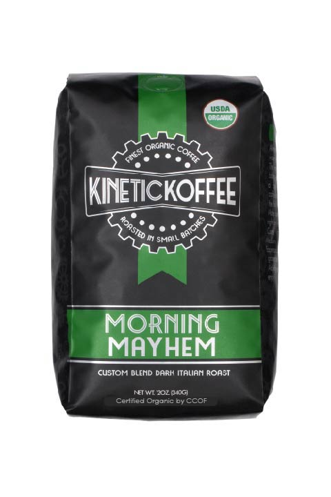 Kinetic Koffee Morning Mayhem-Custom Blend Dark Italian Roast